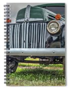 An Old Green Ford Truck Spiral Notebook