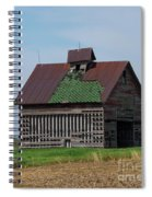 An Old Illinois Barn Spiral Notebook