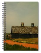An Old Montana Barn Spiral Notebook