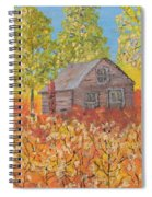 An Old Abandoned Tenant House Spiral Notebook