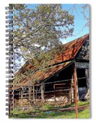 An Old Weathered Barn Spiral Notebook