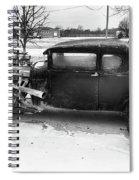 An Older Model Spiral Notebook