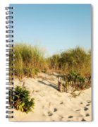 An Opening In The Fence - Jersey Shore Spiral Notebook