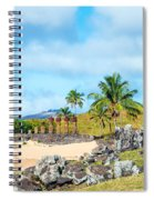Anakena At Easter Island Spiral Notebook