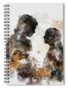 Anakin And Padme Spiral Notebook