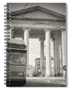 Analog Black And White Photography - Milan - Porta Ticinese Spiral Notebook