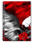 Anarchy Angel Spiral Notebook