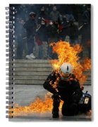 Anarchy Spiral Notebook