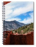 Anasazi Cliff Dwellings #21 Spiral Notebook
