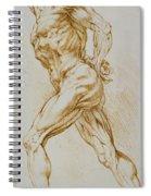 Anatomical Study Spiral Notebook
