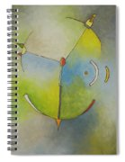 Anchor Points 3 Spiral Notebook