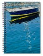 Anchored Boat II Spiral Notebook
