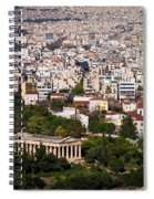 Ancient Agora Of Athens Spiral Notebook