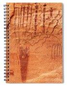 Ancient Art 3 Spiral Notebook
