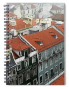 Ancient Buildings At Lisbon. Portugal Spiral Notebook