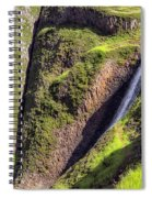 Ancient Cascade Spiral Notebook