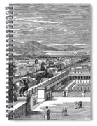 Ancient Corinth, C1894 - To License For Professional Use Visit Granger.com Spiral Notebook
