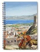 Ancient Corinth Spiral Notebook
