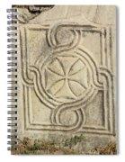 Ancient Cross Pattee Spiral Notebook