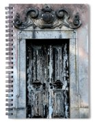 Ancient Door 3 Spiral Notebook