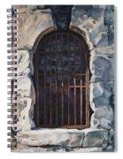 Ancient Door Spiral Notebook