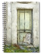 Ancient Doorway Rome Italy Pencil Spiral Notebook