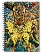 Ancient Goddess The Mother Spiral Notebook