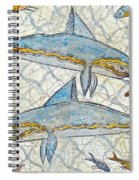 Ancient Greek Dolphins Spiral Notebook