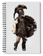 Ancient Greek Hoplite Spiral Notebook