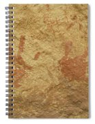 Ancient Hands Spiral Notebook