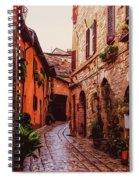 Ancient Italian Village Spiral Notebook