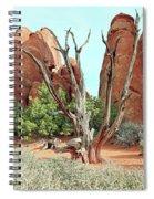Ancient Lands Spiral Notebook