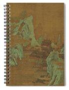 Ancient Landscape Spiral Notebook