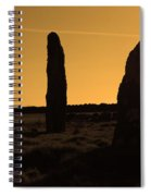 Ancient Monument Spiral Notebook