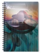 Ancient Of Days - After William Blake Spiral Notebook