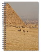 Ancient Of Times - Modern Of Times Spiral Notebook