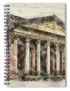 Ancient Pantheon Spiral Notebook