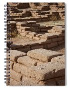 Ancient Pueblo Adobe Walls Spiral Notebook