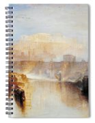 Ancient Rome - Agrippina Landing With The Ashes Of Germanicus Spiral Notebook