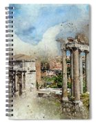 Ancient Rome II Spiral Notebook