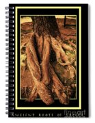 Ancient Roots Of Greece Spiral Notebook