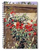 Ancient Roses Spiral Notebook