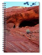 Ancient Ruins Mystery Valley Colorado Plateau Arizona 01 Spiral Notebook