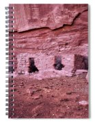 Ancient Ruins Mystery Valley Colorado Plateau Arizona 04 Spiral Notebook