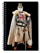 Ancient Templar Knight - 02 Spiral Notebook