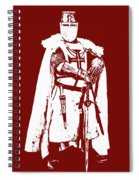 Ancient Templar Knight - 03 Spiral Notebook