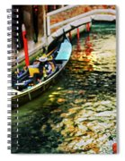 ancient Venice Spiral Notebook