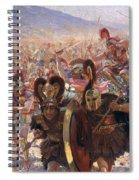 Ancient Warriors Spiral Notebook