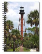 Anclote Key Lighthouse Spiral Notebook