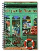 Ancora Una Bicicletta Rossa Spiral Notebook